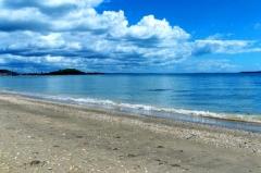 蓝色海岸线